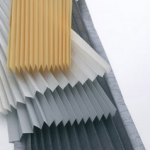 Luxaflex plisse transparantie