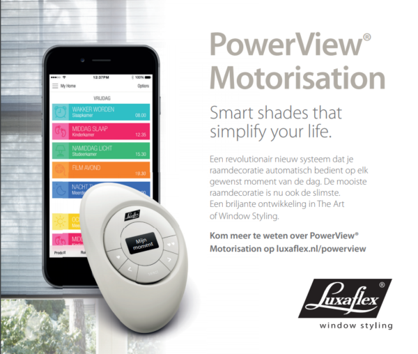 Luxaflex powerview
